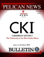 Pelican News June to October 2018 Bulletin- Volume 18 Issue 2University of the West Indies Mona Circle K International Club  featured image